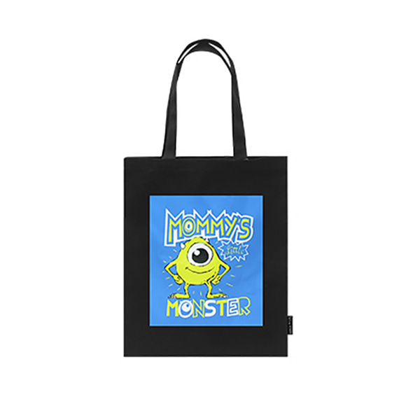 Pixar Monster Eco bag - A (Black)_F