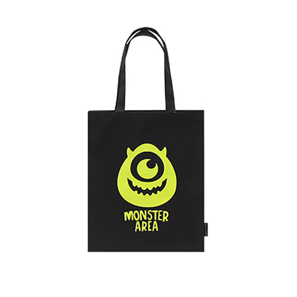 Pixar Monster Eco bag - H (Black)_F