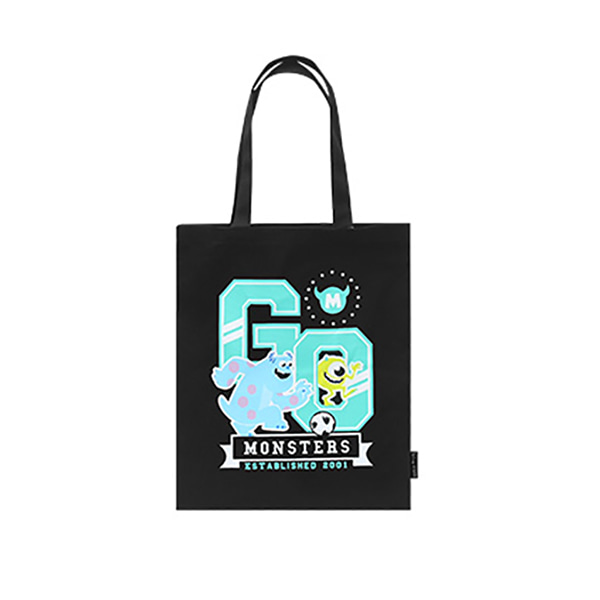 Pixar Monster Eco bag - D (Black)_F
