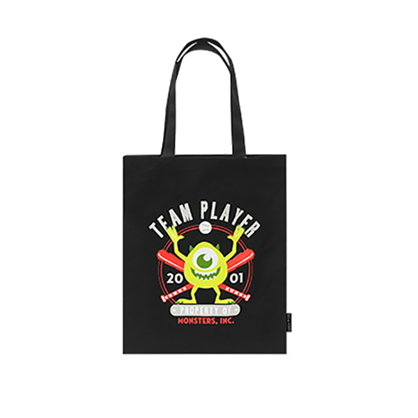 Pixar Monster Eco bag - C (Black)_F
