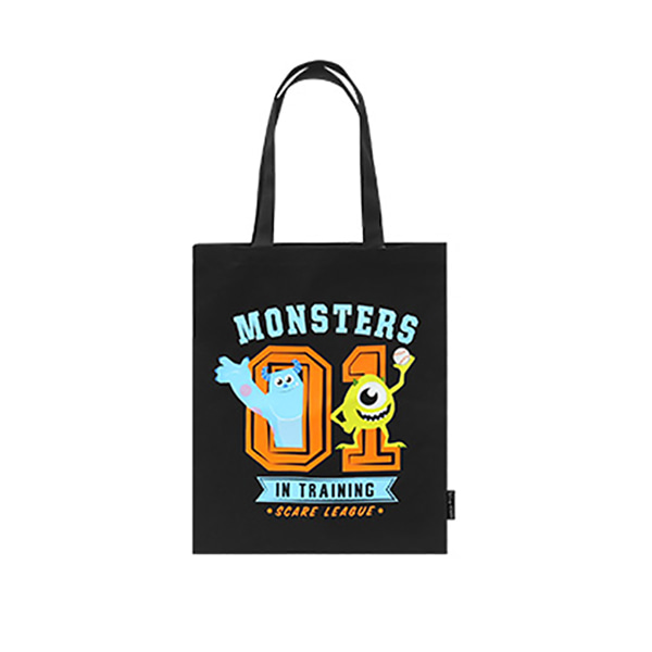 Pixar Monster Eco bag - F (Black)_F